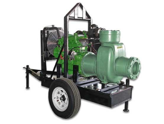 Bomba Autocebante BARNES con Motor a Diesel Modelo 125MD