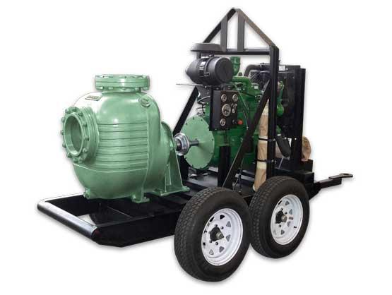 Bomba Autocebante BARNES con Motor a Diesel Modelo 200MD