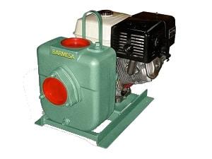 Bomba Autocebante BARNES con Motor a Diesel Modelo 27MD