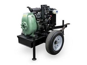 Bomba Autocebante BARNES con Motor a Diesel Modelo 40MD