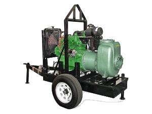 Bomba Autocebante BARNES con Motor a Diesel Modelo 90MD