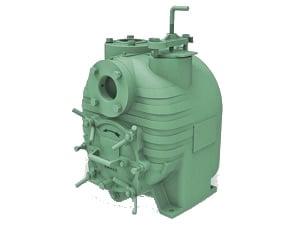 Bomba Autocebante Tragasolidos BARNES Con Motor Eléctrico Modelo SH3-U