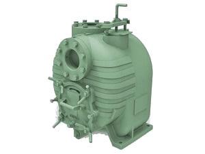 Bomba Autocebante Tragasolidos Con Motor Eléctrico BARNES Modelo SH4-U