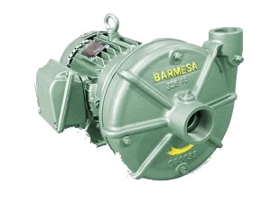 Bomba Centrífuga de Alta Presion BARNES con Motor Electrico de la Serie IA