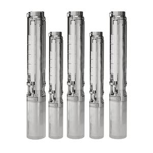 Bombas de agua sumergibles para pozos Grundfos de la Serie SP