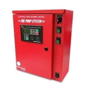 Tablero Para Equipo Contra Incendio A Diésel De 1 O 2 Baterías