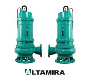 Bombas Sumergibles para Lodos y Aguas Residuales Altamira de la Serie COBÁ - Morton Pumps