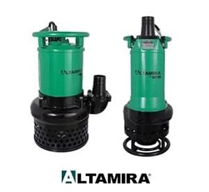 Bombas Sumergibles para Lodos y Aguas Residuales Altamira de las series FOSS y TANTUM