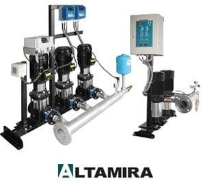 Sistemas Hidroneumáticos marca Altamira