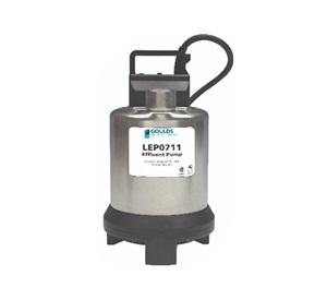 Bombas para efluentes Goulds de la Serie LEP07
