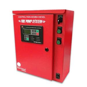 Tableros de Control Eléctrico Para Equipo Contra Incendio A Diésel De 1 O 2 Baterías