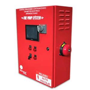 Tablero de Control Eléctrico Para Equipo Contra Incendio Con Arranque Suave