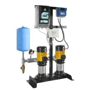 Sistema Hidroneumático Dúplex de Presión Constante con Variador de Frecuencia R-Drive + Arrancador Procontrol ALTAMIRA HIDROCONTROL en México