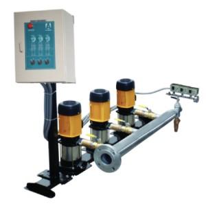Sistemas Hidroneumáticos Múltiples de Presión Constante con 1 Variador de Frecuencia ALTAMIRA HIDROCONTROL en México